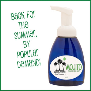 It's Back: Get Mojito Foaming Hand Soap Today!