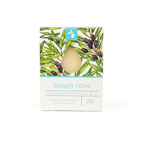 Simply Olive Fragrance-Free Bar Soap