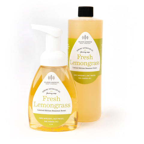 Fresh Lemongrass Foaming Hand Soap