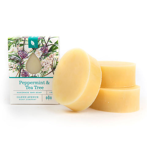 薄荷& Tea Tree Bar Soap
