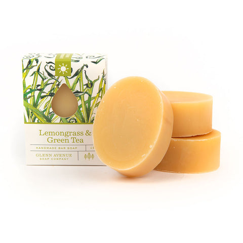 柠檬草& Green Tea Bar Soap