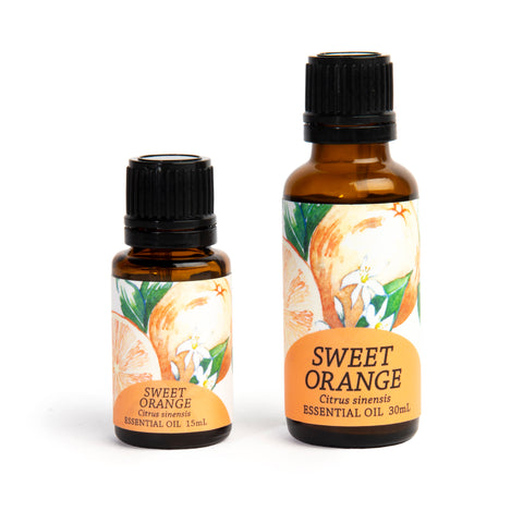 Sweet Orange (Citrus sinensis) Essential Oil