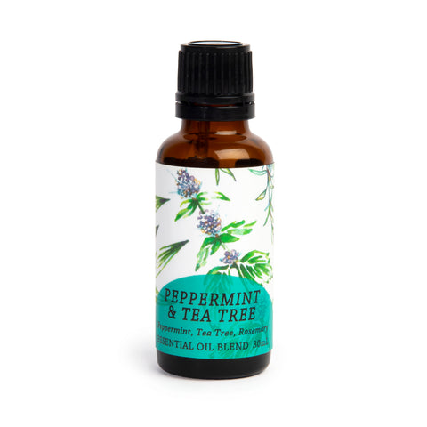 Peppermint & Tea Tree Essential Oil Blend