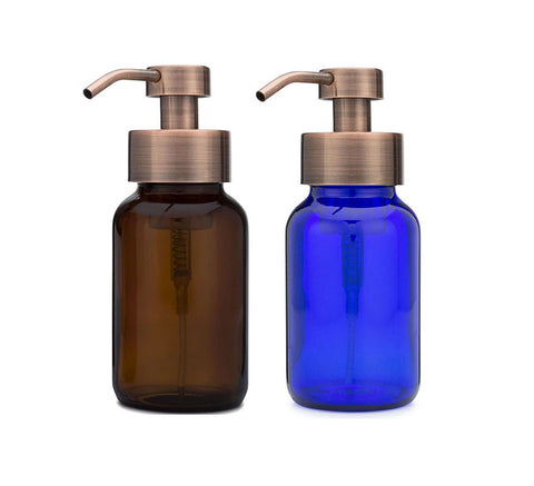 Apothecary Glass Foaming Soap Dispenser