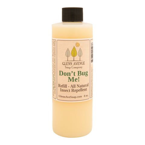 Soap company, Don't Bug Me Natural Insect Repellent Pump Refill, Glenn Avenue Soap Company