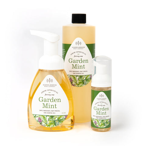 Garden Mint Foaming Hand Soap