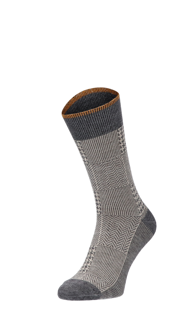 Haberdashery Herrensocken Charcoal