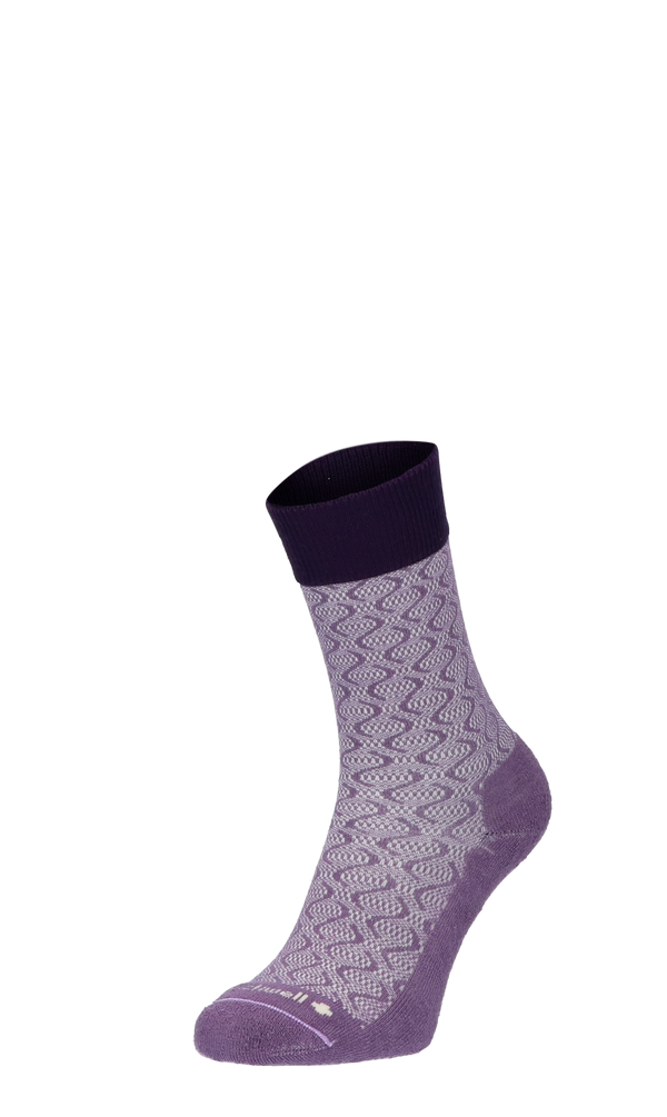 Softie Damen Diabetikersocken Plum
