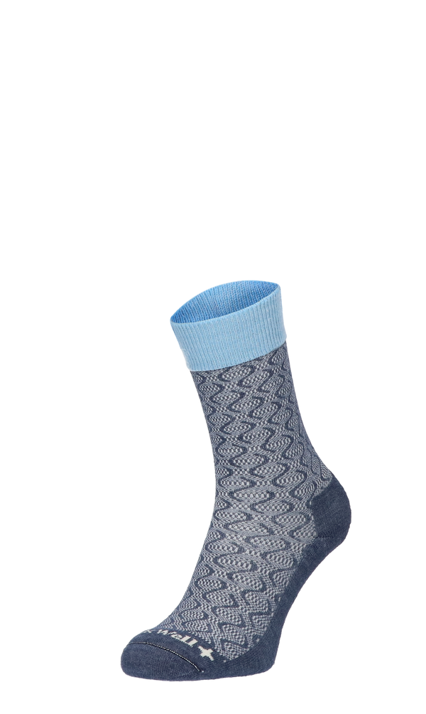 Softie Damen Diabetikersocken Denim