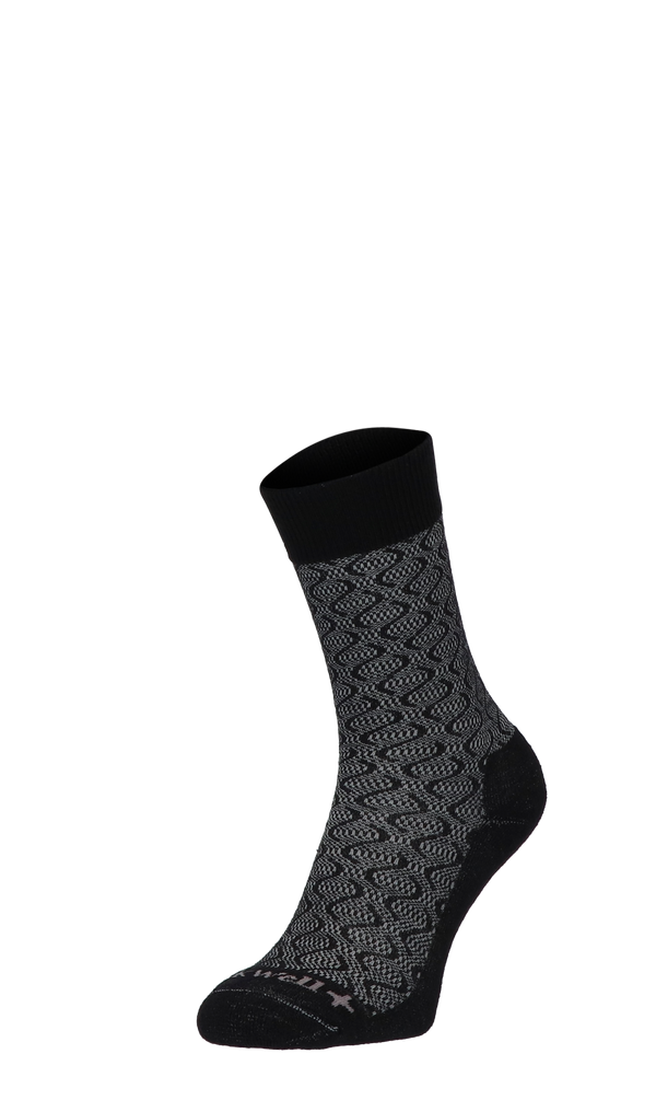 Softie Damen Diabetikersocken Black