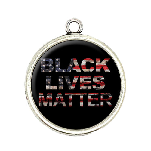 Black Lives Matter Cabochon Charms