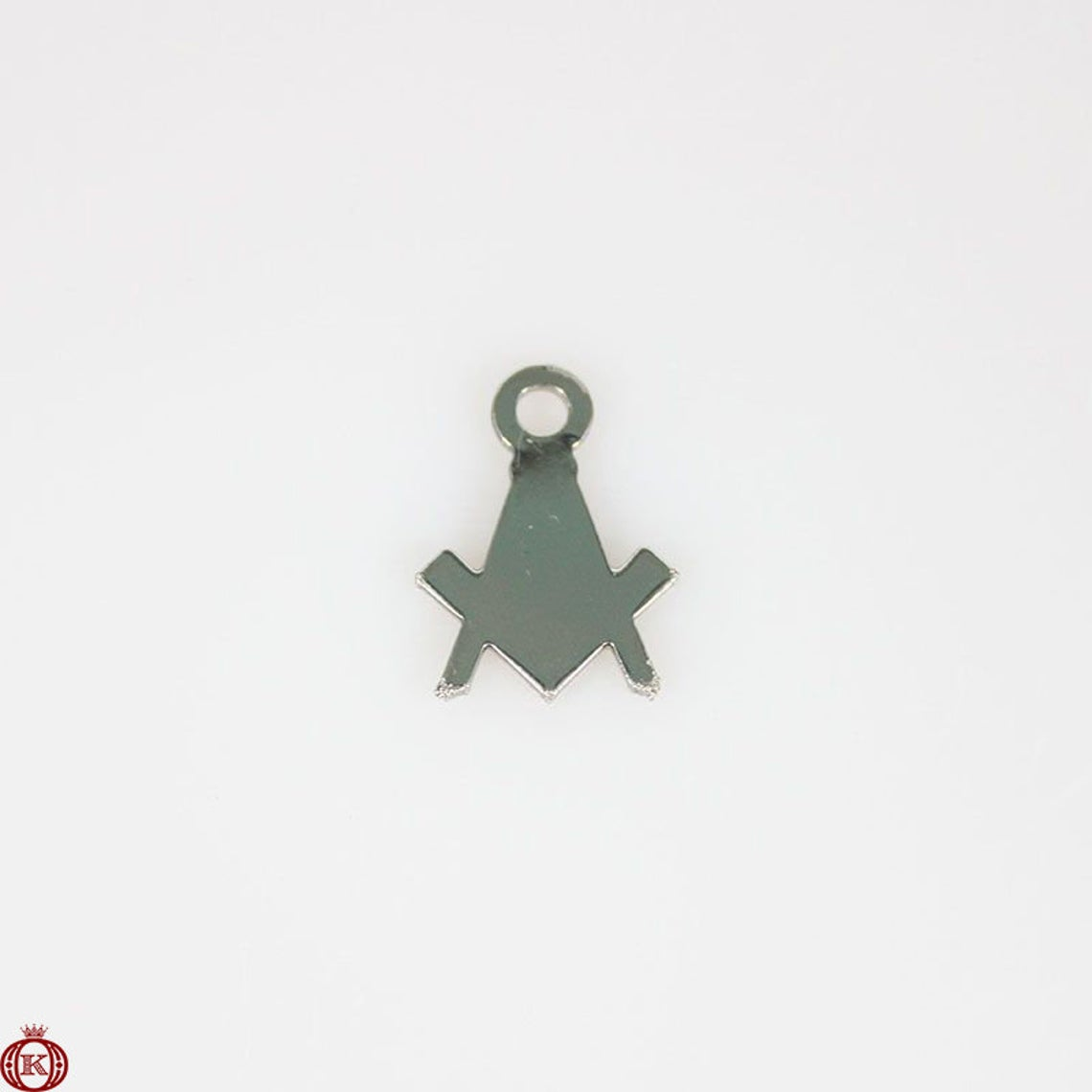 Freemasonry Square & Compass Charm