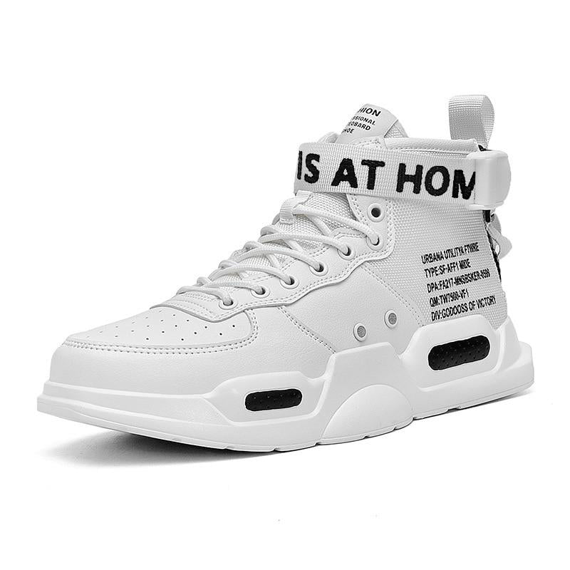 Gotham Nights High Top Strap Sneakers