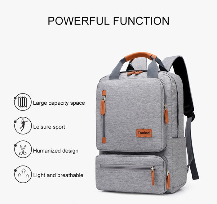 Oxford Accented Computer Backpack