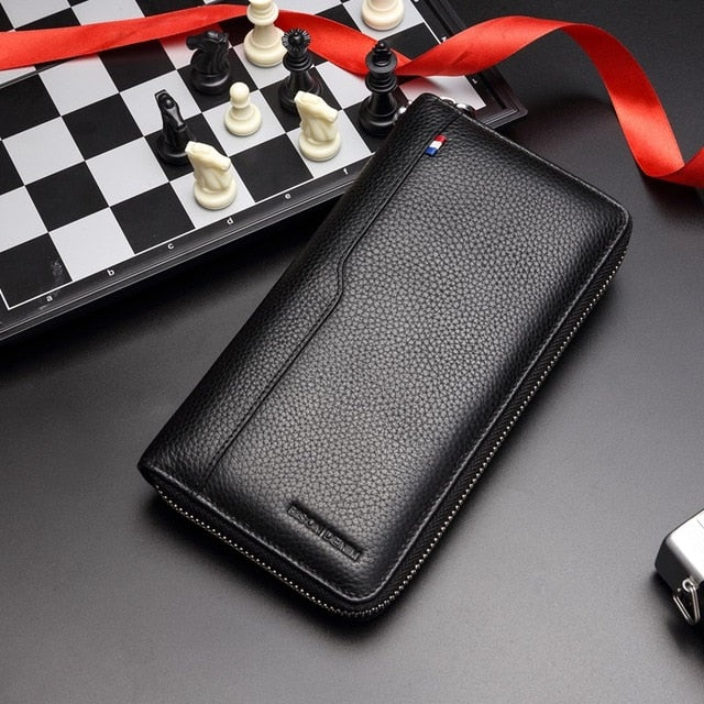 Leather RFID Blocking Phone Case & Wallet