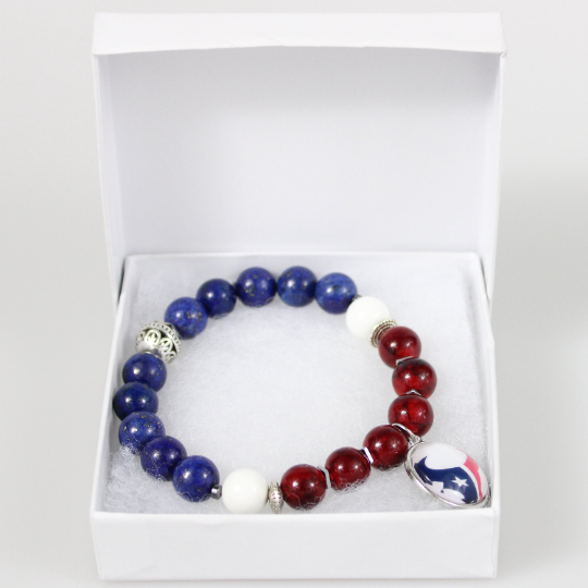 Houston Texans Bead Bracelet