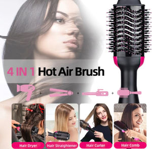 THE 4 IN 1 PROFESSIONAL SMOOTHING BRUSH
