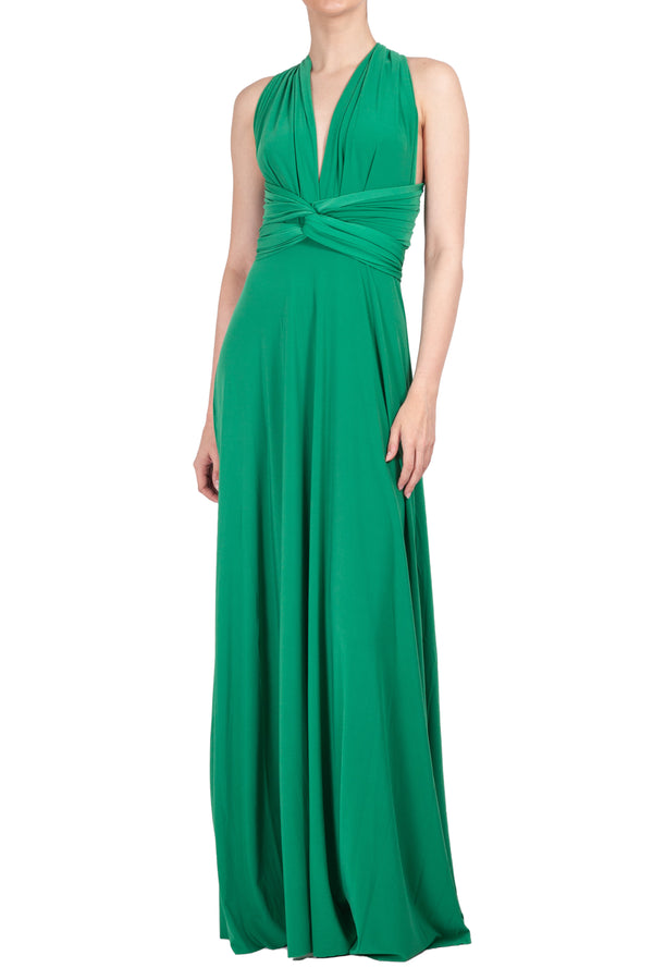 MAXI INFINITY DRESS KELLY GREEN