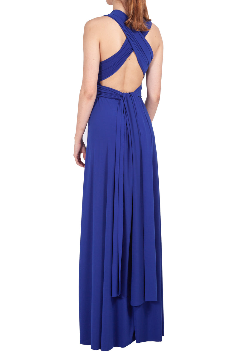 MAXI INFINITY DRESS ROYAL BLUE