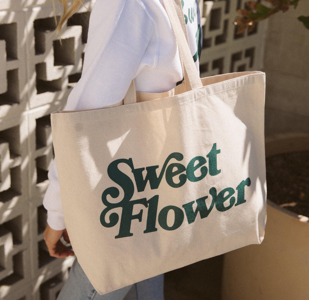Sweet Flower x Free & Easy Tote