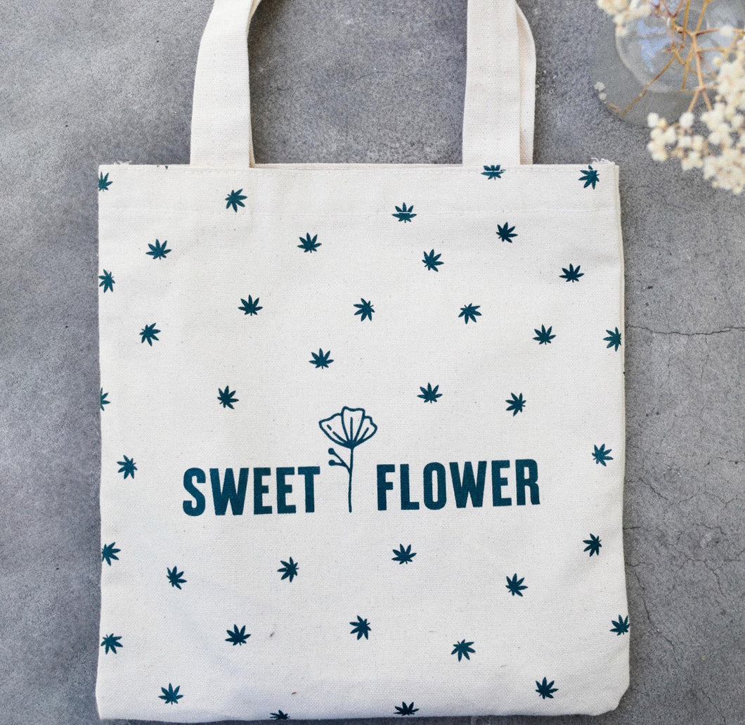 Sweet Flower Small Tote