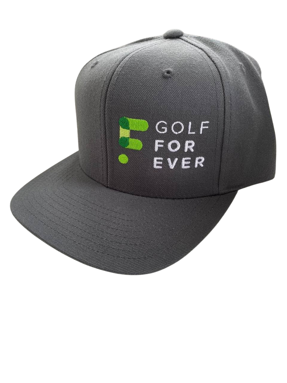 GOLFFOREVER Hat - Solid Gray