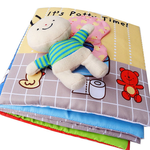 1 X Intelligence development Cloth Cognize Book Educational Toy for Kid Baby L/_D
