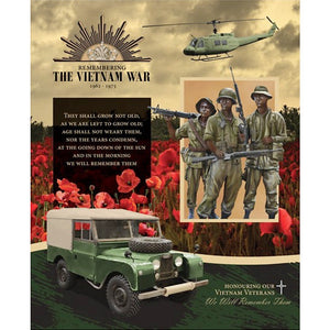 Honouring Our Vietnam Veterans Quilt - Land Rover