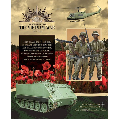 Honouring Our Vietnam Veterans Quilt - Tank