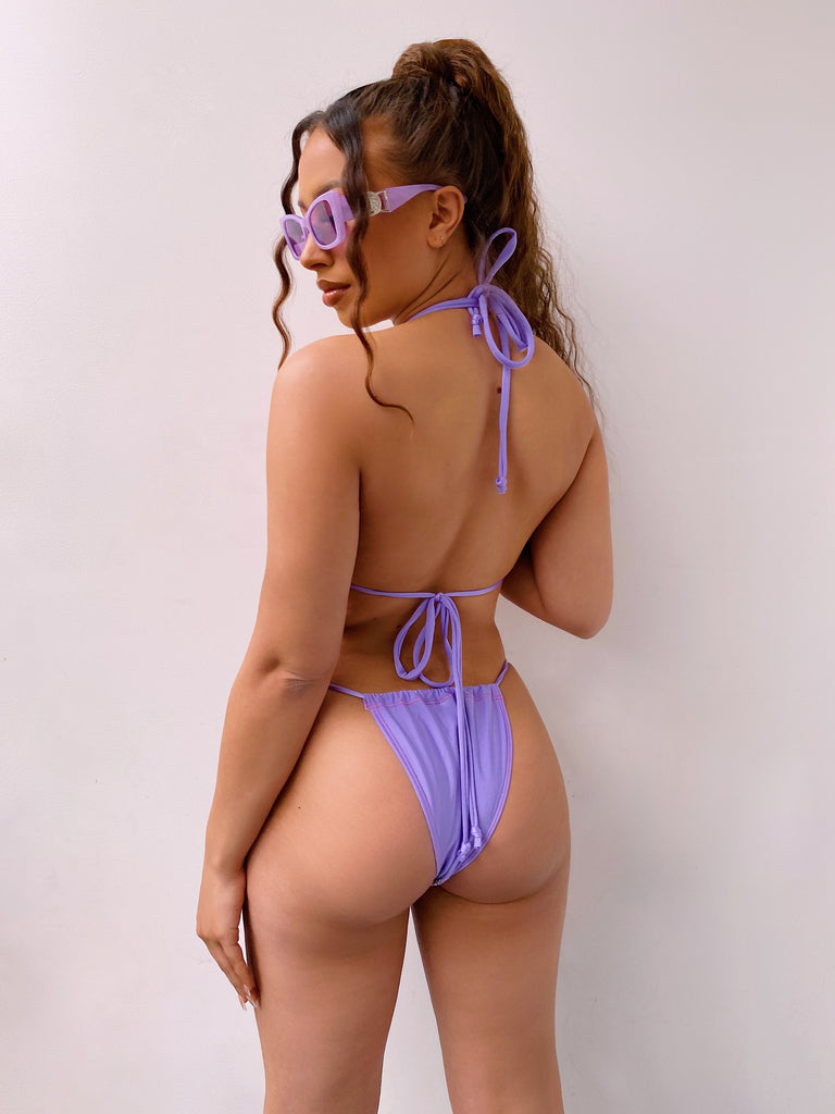 JADE X SASSYPANTS - LILAC MINIMAL BOTTOMS