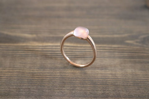 RING FIRENZE RG PINK STONE S56