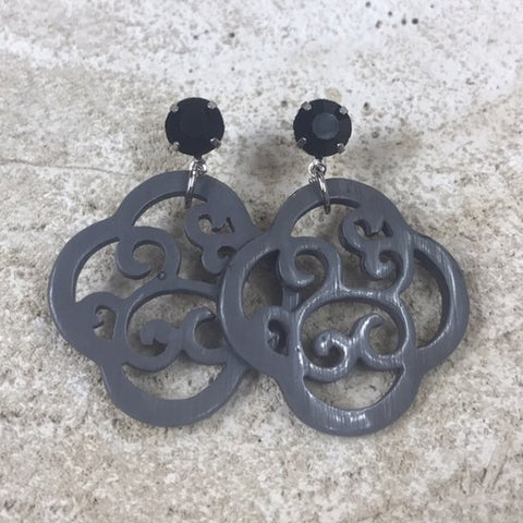EARRING HANNA GREY