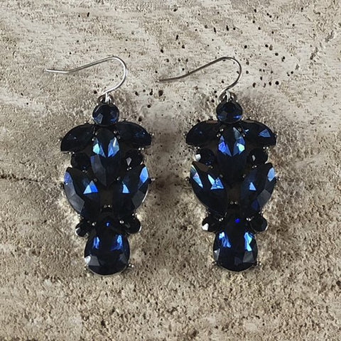 EARRING MAXIME JEANS BLUE
