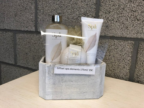 Giftset spa elements