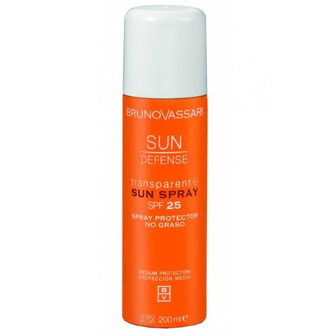 Transparant Sun Spray SPF25 - Sun Defense