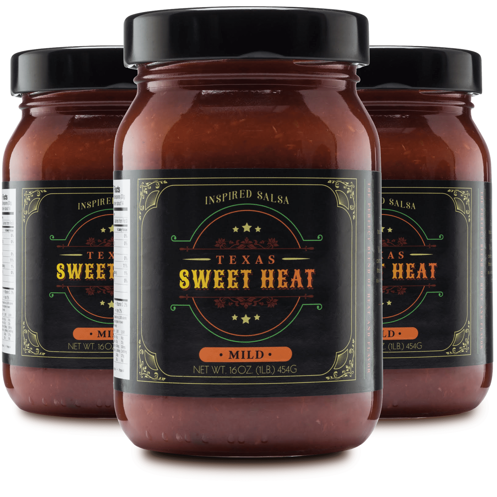 Texas Sweet Heat Mild Salsa 3 Pack