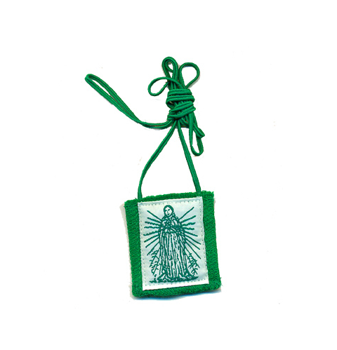 Immaculate Heart Green Scapular - St. Benedict's Catholic Store