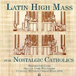 Latin High Mass for Nostalgic Catholics - St. Benedict's Catholic Store