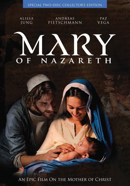 Mary of Nazareth DVD - St. Benedict's Catholic Store