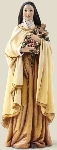 "6.25"" St Therese 6"" Scale Figure - St. Benedict's Catholic Store"