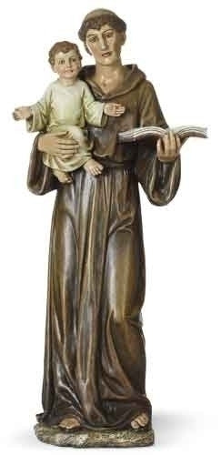 "14.5"" St Anthony Statue - St. Benedict's Catholic Store"