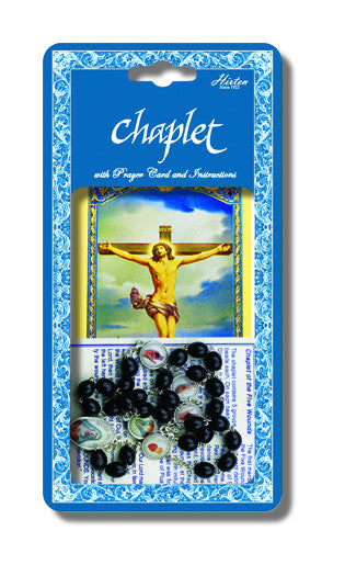 Five Wounds Deluxe Chaplet - St. Benedict's Catholic Store