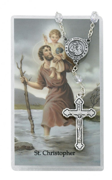 St Christopher Auto Rosary - St. Benedict's Catholic Store
