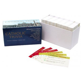 Catholic Trivia Game - St. Benedict's Catholic Store