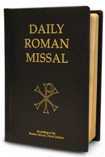 Daily Roman Missal, 7th Ed., Standard Print (Bonded Leather, Black) - St. Benedict's Catholic Store