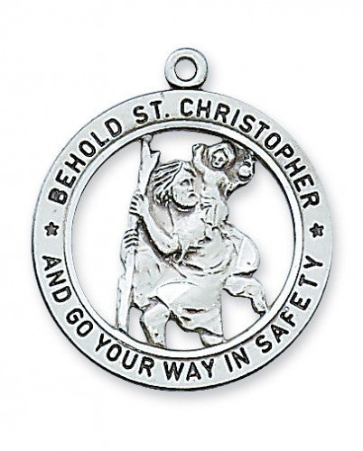 "St. Christopher SS 1"" - St. Benedict's Catholic Store"