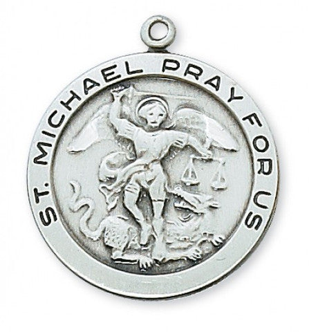"St. Michael the Archangel SS 3/4"" - St. Benedict's Catholic Store"