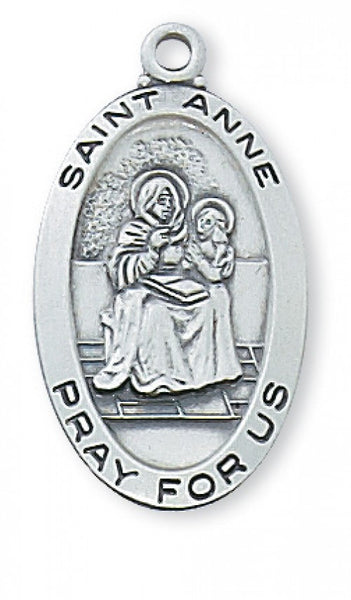"St Anne SS 1"" x 9/16"" - St. Benedict's Catholic Store"