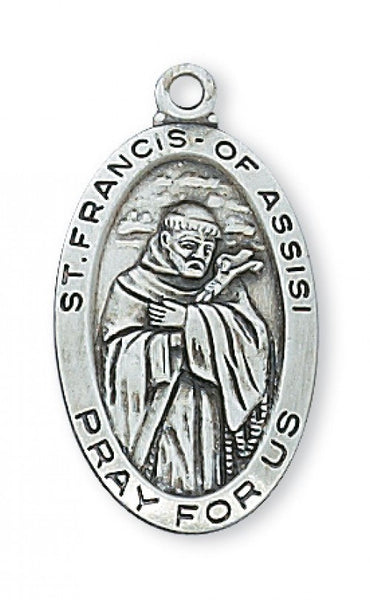 "St Francis SS 18"" - St. Benedict's Catholic Store"