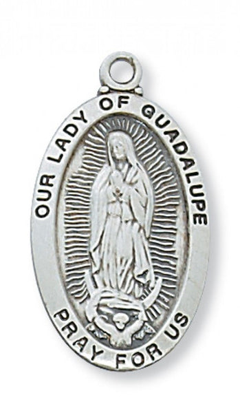 "Our Lady of Guadalupe SS 1"" x 9/16"""